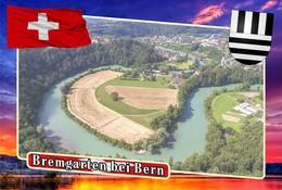 Postcard, REPRODUCTION, Municipalities Of Switzerland, Bremgarten Bei Bern 2 - Cartes Géographiques