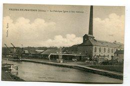CPA 02 : VILLERS EN PRAYERES  La Fabrique     A  VOIR   !!!!!! - France