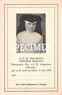 E.D.M. Willibald - Cornelis Marguerite - Sint-Joris-ten-Distel - Beernem