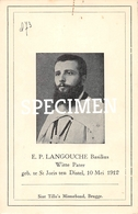 E.P. Langouche Basilus - Witte Pater- Sint-Joris-ten-Distel - Beernem