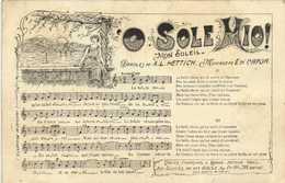 """O SOLE MIO! """"Monsoleil"""" Paroles De A.L. HETTICH  Musique E Di CAPUA  RV - Musica"""