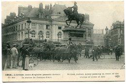 CPA - Carte Postale - Militaria - Armée Indio Anglaise Passant Devant La Statue De Jeanne D'Arc - 1914  ( I11668) - Regiments