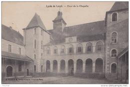 H28-  53) LAVAL  - LYCÉE -   COUR DE LA CHAPELLE - Laval