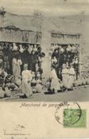 Marchand De Gargouille + Timbre 5 Regence De Tunis RV Cachet Millau Aveyron - Túnez