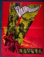 Af Orig Ciné LES VAINQUEURS Romy Schneider Eli Wallach 60X80 Illus Kerfyser 1963 - Affiches & Posters
