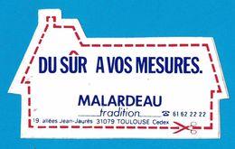 AUTOCOLLANT DU SUR MESURES MALARDEAU TRADITION 19 ALLEES JEAN-JAURES 31079 TOULOUSE CEDEX - Aufkleber