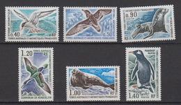 1976-TAAF-N°55/60** FAUNE - Unused Stamps