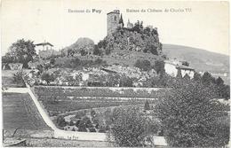 LE PUY EN VELAY : RUINES DU CHATEAU - Le Puy En Velay