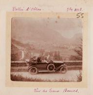 X64000 Vallée OSSAU Automobile Vers Les EAUX BONNES Juillet 1921 Famille FROMONT Photographie Pyrenées Atlantiques - Plaatsen