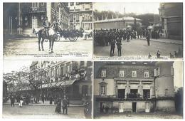 LES JOURNÉES ITALIENNES ( 14-18 Octobre 1903 ) - Rare Lot De 9 CPA - Neurdein Frères - Evènements