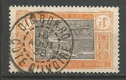 COTE D'IVOIRE N° 55 CACHET  DIMBOKRO - Usados