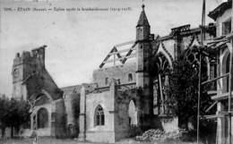 55 - Etain - Eglise Après Le Bombardement (1914 1918) - Etain