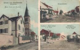 Gruß Aus Bischweier Bischwihr Arrondissement Colmar-Ribeauvillé, 1914 - Colmar