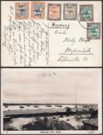 """SOUDAN CP """"SAMBOUKS , PORT SOUDAN"""" VERS ALLEMAGNE (VG) DC-7099 - Soudan (...-1951)"""