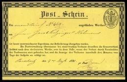 1841, Schweiz, POSTSCHEIN, Brief - Suisse