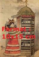 Reproduction Photographie Ancienne D'une Affiche Publicitaire Pour Les Dentifrices Elixir Du Docteur J.V. Bonn En 1893 - Reproductions