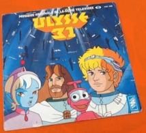 Vinyle 45 Tours   Ulysse 31  Musique Originale De La Série Télévisée FR3    (1981) - Música De Peliculas