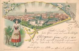 Colmar Haut-Rhin Elsass 1898 - Colmar