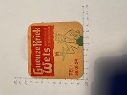 Brouwerij Gueuze Kriek Wets Sint Genesius Rhode - Sous-bocks