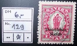 N°879E BRIEFMARKE DEUTSCHES REICH GESTEMPELT GEPRUFT - Allemagne