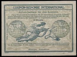 DEUTSCHLAND / ALLEMAGNE / GERMANY Ro2 InternationalReply Coupon Reponse IRC IASAntwortschein Mint **  Michel IAS 2 - Allemagne