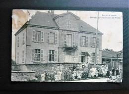 SIROD - école Des Filles  Jura 39 édition Mlle Grappe ( Carte Rare ) état : Plis & Taches - Altri Comuni