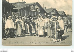 Französischer Carneval Im Gefangenenlager Puchheim Bei München 1916 - Guerre 1914-18