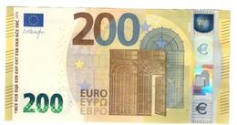 ITALIA ITALY 200 € MARIO DRAGHI SD S004H2 SUP/FDS  COD.€.130 - EURO