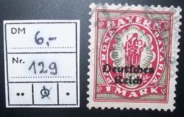 N°884E BRIEFMARKE DEUTSCHES REICH GESTEMPELT GEPRUFT - Allemagne