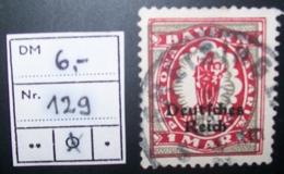 N°885E BRIEFMARKE DEUTSCHES REICH GESTEMPELT GEPRUFT - Allemagne