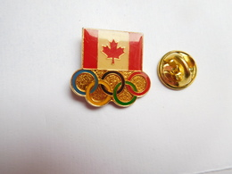 Beau Pin's , JO , Jeux Olympiques Canada - Olympic Games