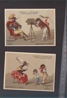Chromo Fin XIXè / Lot De 2 / Galerie Lamartine Paris / Animaux Habillés, Photographie - Old Paper
