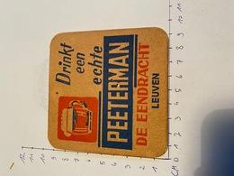 Brouwerij De Eendracht Leuven Peeterman - Sous-bocks