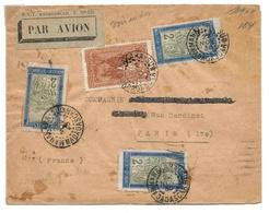 Madagascar Lettre Avion Manakara Sud 22 11 1935 Airmail Cover - Madagaskar (1889-1960)