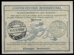 DEUTSCHLAND / ALLEMAGNE / GERMANY Ro4 Ms. 30 / 25 Pfennig Int.Reply Coupon Reponse IRC IASAntwortschein O ROHRBCH AMT - Allemagne