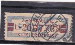 "DDR, Dienst: ZKD Nr. 21 ""L"", Gest. (T 15179) - DDR"