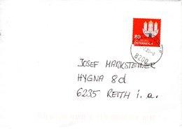 Brief Von 8200 Gleisdorf Mit 80 Cent Salzburg 2020 - 1945-.... 2ème République