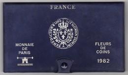 SÉRIE DE 11 PIÈCES FLEURS DE COINS 1982 MONNAIE DE PARIS - France