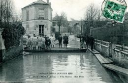 N°3976 T -cpa Saint Maur -villa Shaken -inondations 1910- - Saint Maur Des Fosses