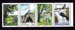 SUEDE 1996 - YT 1937/1940 - Facit 1977/1980 - NEUFS ** LUXE/ MNH - Série Complète 4 Valeurs - L'Ekoparken De Stockholm - Neufs