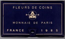 SÉRIE DE 12 PIÈCES FLEURS DE COINS 1985 MONNAIE DE PARIS - France