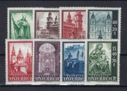 AUSTRIA 1948 Nº 755/762 CAT 25€ - 1945-60 Ongebruikt