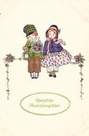 Pauli EBNER - Herzliche Neujahrsgrüsse ! - Ebner, Pauli