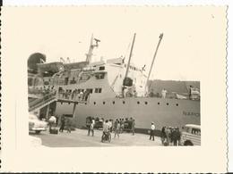 Photo - Bateau - Le Napoléon - Port De Nice En 1960 - Schiff - Boat - Boats
