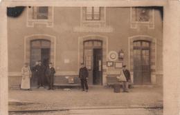 IVRY LA BATAILLE - La Gare - Carte Photo - Ivry-la-Bataille