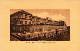 CPA NAPOLI Palazzo Reale Dal Lato Dell'Arsenale. ITALY (526276) - Napoli