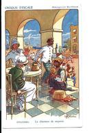 GERVESE - Carte Ancienne Messageries Maritimes - Croquis D'escale CEYLAN - Charmeur De Serpents (Colombo Vers 1910) - Gervese, H.