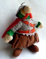 TRES RARE PELUCHE OBELIX OBELISC'H MARTEAU DU PARC ASTERIX 1991 UDERZO GOSCINNY - Asterix & Obelix