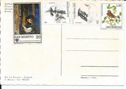 PK. SAN MARINO - ZEGELS MI NR 1182-1979 /NR1162-1978/ NR1133 -1977 / NR1009 -1972 - Saint-Marin