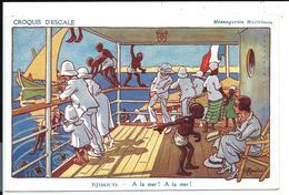 GERVESE - Carte Ancienne Messageries Maritimes - Croquis D'escale - DJIBOUTI - à La Mer ! (vers 1910) VENTE DIRECTE X - Gervese, H.